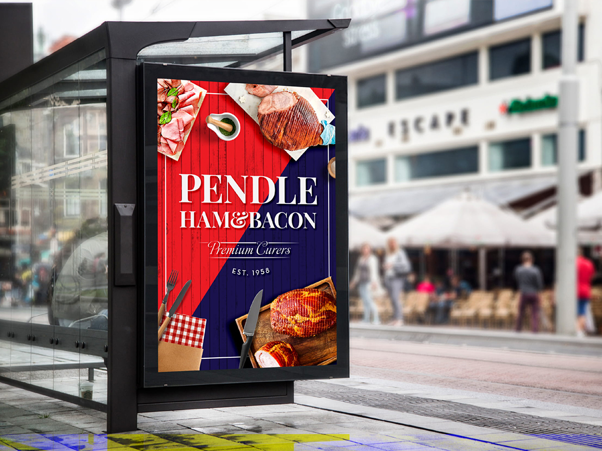 Pendle Ham and Bacon Graphic Design Sydney 2